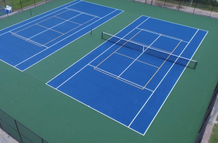 Tennis Resurfacing